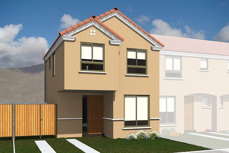 Modelo Limarí del proyecto Parque San Marcos Casas - Inmobiliaria ...